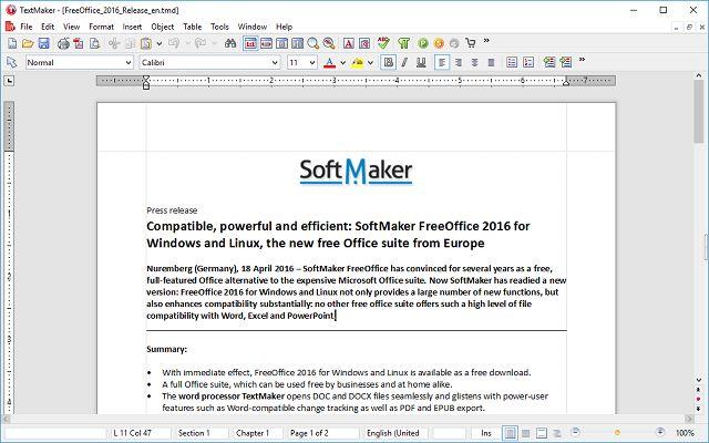 freeoffice-interfaz-textmaker