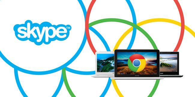 Necesidad de utilizar skype? Puede hacerlo en un chromebook