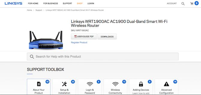 Linksys Router Firmware Download Page