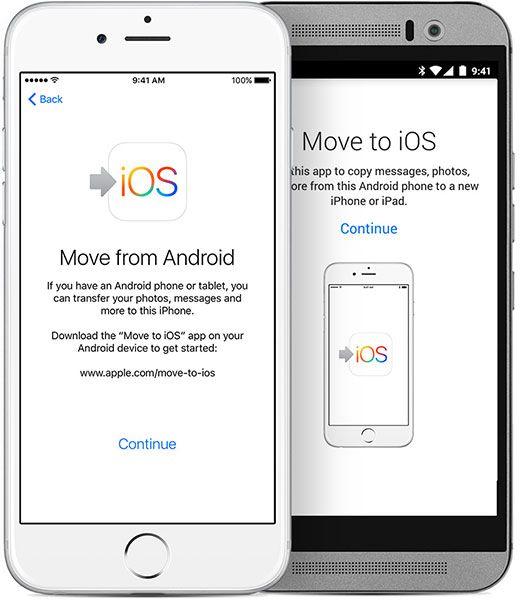 pasar de Android a iOS