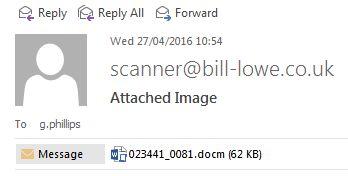 Intento de phishing mientras que escribe el artículo
