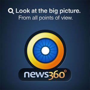 News360 - un agregador de noticias frescas para su smartphone, tablet y escritorio