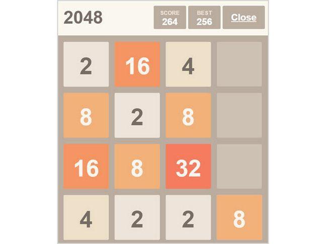 2048 Desconectado Chrome