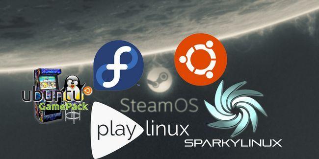 No es todo acerca steamos: otras grandes distribuciones de linux para los jugadores