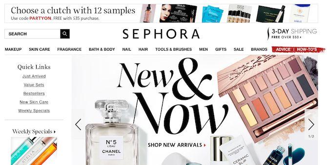 Envío gratuito Sephora