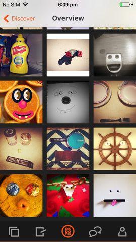 aplicación de fotografía creativa