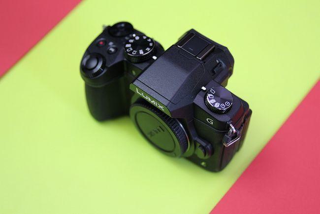 Cuerpo Panasonic G80