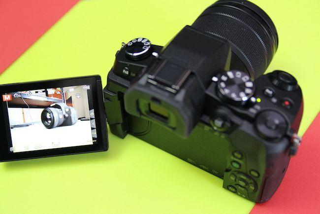 Panasonic G80 enfoque automático