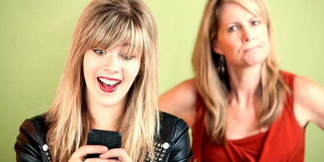 Los padres y los adolescentes no entienden los internet de cada uno