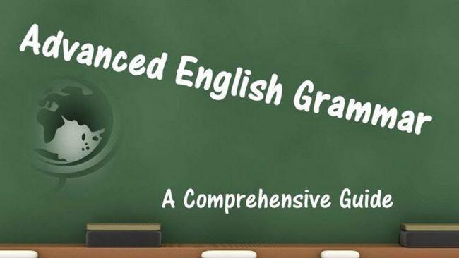 Inglés Avanzado Gramática