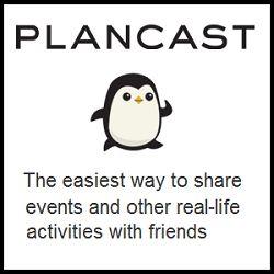 Planificación de eventos y compartirlos con amigos en plancast