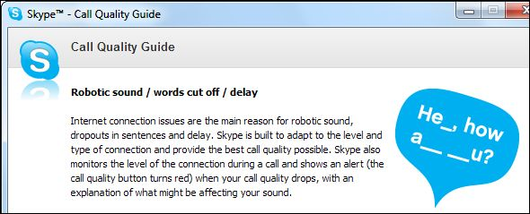 Skype no funciona