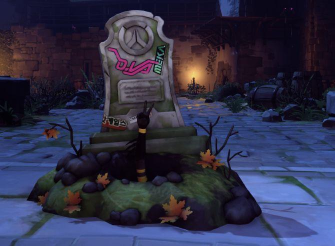 DVa de Halloween Pose