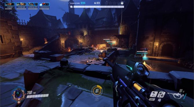 Overwatch venganza Mapa