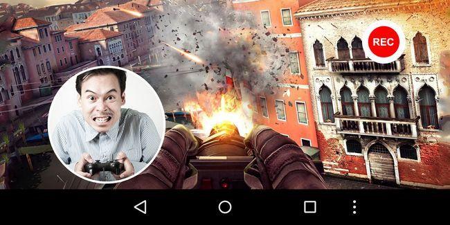 Grabar la pantalla en android con juegos de google play