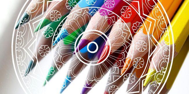 Aliviar el estrés diario con hermosas páginas para colorear mandala libre