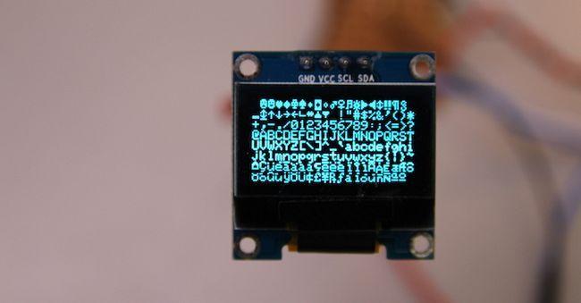 prueba de OLED Arduino