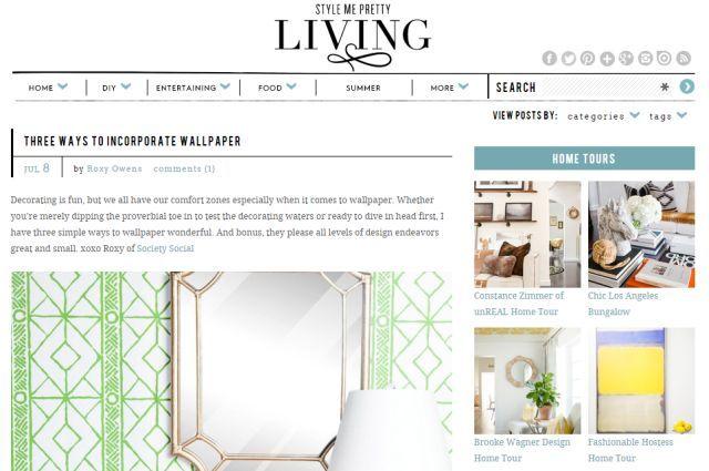 -mejores sitios web-to-save-dinero-en-hogar-decoración-bricolaje-stylemepretty-sala de estar