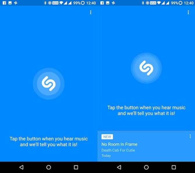 Lite Android Shazam