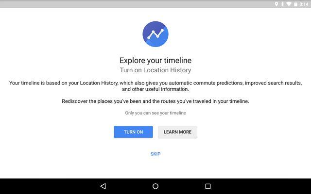 AndroidPocketScreenOff-Google-Maps-Cronología