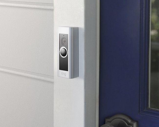 Anillo de vídeo timbre de la puerta