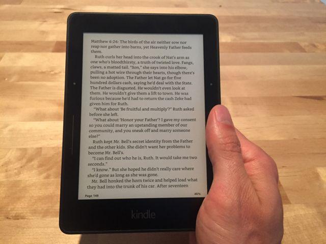 Kindle en mano