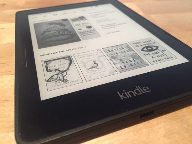 Kindle-viaje-hogar de pantalla