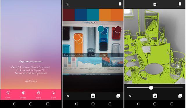 android-creativa en la nube de captura