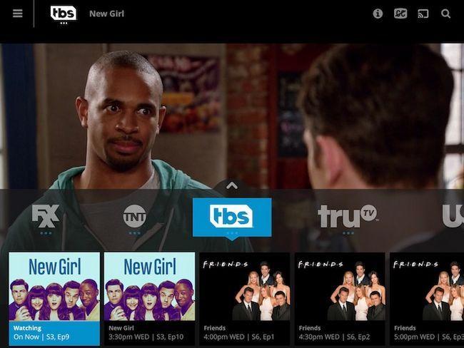 Catálogo de TV Ejemplo Sling