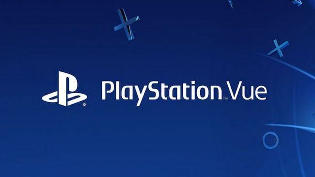 logotipo de PlayStation Vue