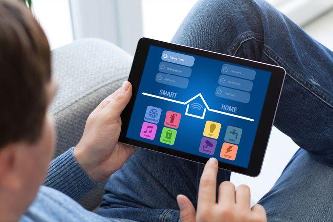 comprimido de control inteligente del hogar