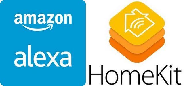 Amazon y Apple Alexa HomeKit