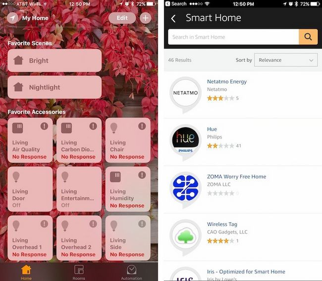 HomeKit Alexa Aplicaciones