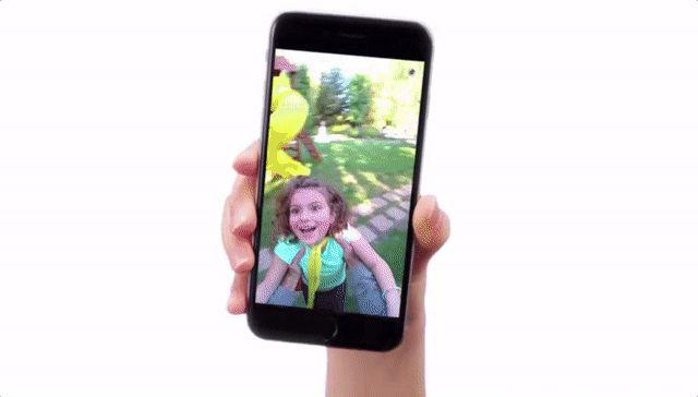 Snapchat Gafas vídeo Circulares GIF