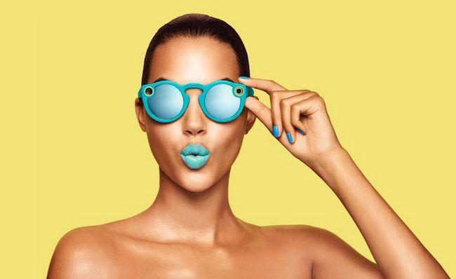 Snapchat Gafas Blue Lady