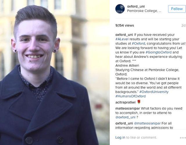 Oxford Instagram