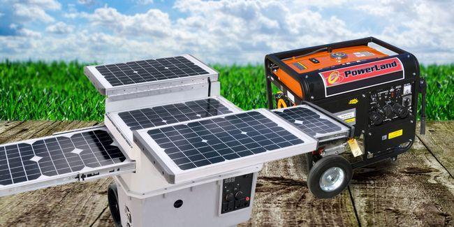 Generadores solares vs generadores de combustible: cuál es el mejor para usted?