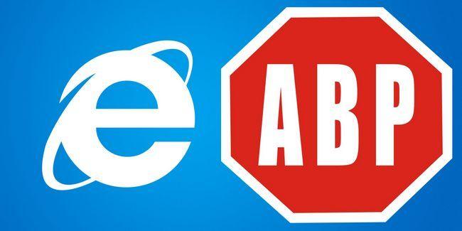 Consideraciones especiales cuando se utilizan adblock con internet explorer