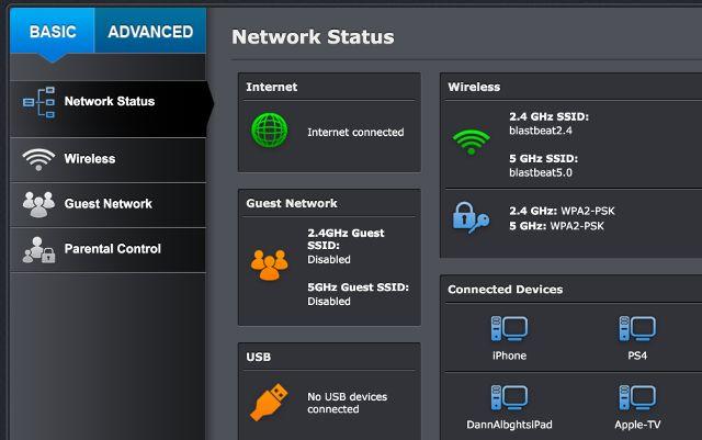 -configuración del router