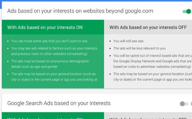 google-anuncios-settings