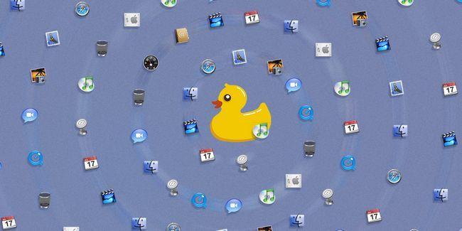 Statusduck reemplaza el muelle de su mac con los iconos de barra de menús