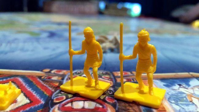 piezas de tablero de juego civilización