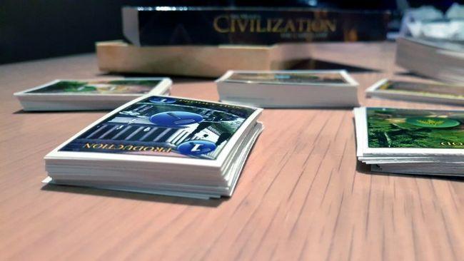 la civilización del juego de cartas