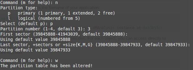 Muo-linux-fdisk-partición
