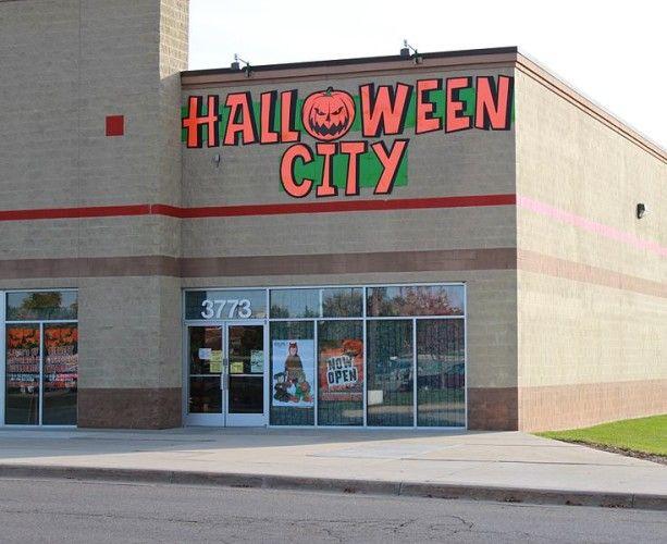 la ciudad de Halloween