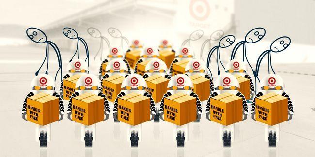Target está reemplazando los trabajadores humanos con robots