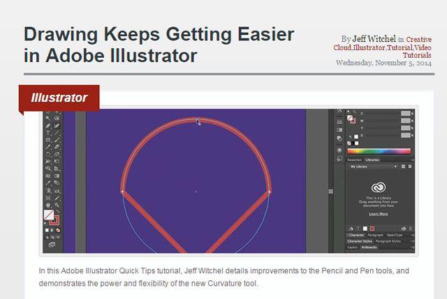 :: Revista capas de aprendizaje Illustrator