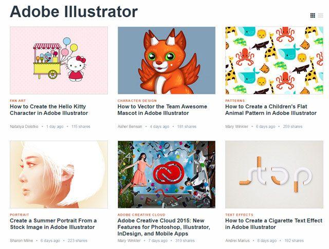 Tuts +: Aprender Illustrator