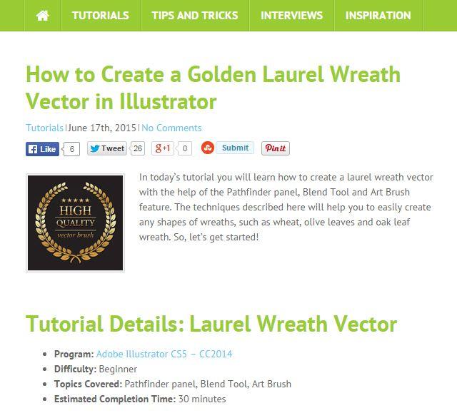 VecTips: Aprendizaje de Illustrator