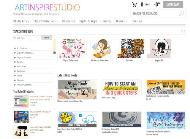Inspire Art Studio: Learning Illustrator